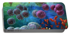 Virology Photographs Portable Battery Chargers