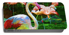 Impasto Flamingo Portable Battery Charger