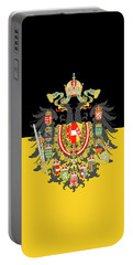 Habsburg Flag With Imperial Coat Of Arms 1 Portable Battery Charger