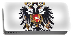 Imperial Coat Of Arms Of The Empire Of Austria-hungary 1815 Transparent Portable Battery Charger