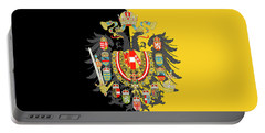 Habsburg Flag With Imperial Coat Of Arms 2 Portable Battery Charger