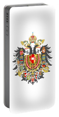 Imperial Coat Of Arms Of The Empire Of Austria-hungary Transparent Portable Battery Charger