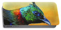 Impeyan Pheasant Portable Battery Charger by Suzanne Handel