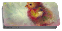 Impressionist Chick Portable Battery Charger