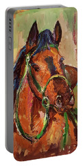 Impressionist Horse Portable Battery Charger