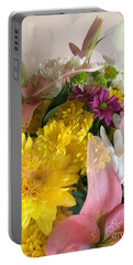 Impressionist Spring Bouquet Portable Battery Charger