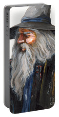 Impressionist Wizard Portable Battery Charger by J W Baker