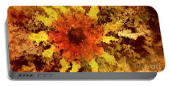 Impressionistic Petals Portable Battery Charger