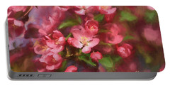 Portable Battery Charger featuring the photograph Impressions Of Spring by Rachel Cohen