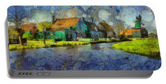 Impressions Of Zaanse Schans Portable Battery Charger