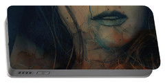 Portable Battery Charger featuring the mixed media In A Broken Dream  by Paul Lovering