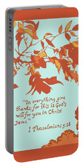 In Everything Give Thanks Portable Battery Charger