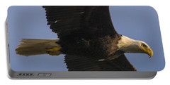 Portable Battery Charger featuring the photograph In Flight by Gary Lengyel