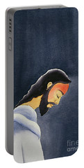 In His Agony Jesus Prays In Gethsemane To His Father Portable Battery Charger