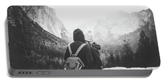 Yosemite Love Portable Battery Charger by JR Photography