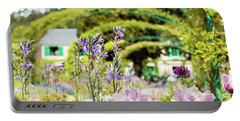 In Monet's Garden Portable Battery Charger