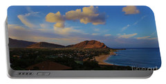 Portable Battery Charger featuring the photograph In Morning Light Ma'ili Hawaii by Craig Wood