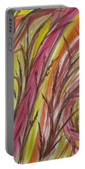 In Rushes Fall Portable Battery Charger by Sharyn Winters