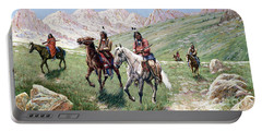In The Cheyenne Country Portable Battery Charger