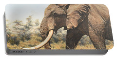 In The Footsteps Of Elders Portable Battery Charger