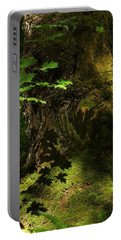 Portable Battery Charger featuring the digital art In The Forest by I'ina Van Lawick