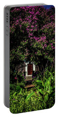 Portable Battery Charger featuring the photograph In The Garden - The Hermitage by James L Bartlett