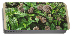 Portable Battery Charger featuring the photograph In The Highline Garden by Joan  Minchak
