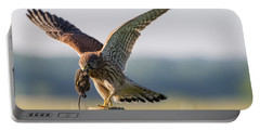 In The Kestrel's Beak Portable Battery Charger by Torbjorn Swenelius