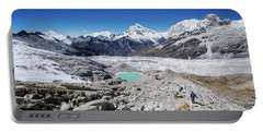 In The Middle Of The Cordillera Blanca Portable Battery Charger