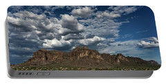 Portable Battery Charger featuring the photograph In The Midst Of The Superstitions  by Saija Lehtonen