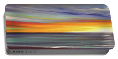 In The Moment Panoramic Sunset Portable Battery Charger