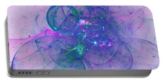 Portable Battery Charger featuring the digital art In The Mood by Jeff Iverson