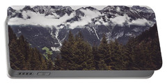 In The Mountains Portable Battery Charger by Daniel Precht