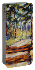 In The Pines Orginal Art By Prankearts Portable Battery Charger