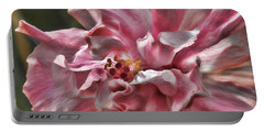 Portable Battery Charger featuring the photograph In The Pink by HH Photography of Florida