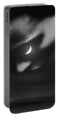 In The Quiet Of Your Mind Black Portable Battery Charger by ISAW Gallery