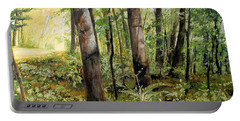 In The Shaded Forest  Portable Battery Charger