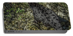 In The Shadows Black Bear Portable Battery Charger