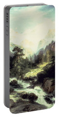 In The Teton Range Portable Battery Charger