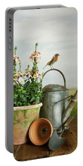 In The Vintage Garden Portable Battery Charger
