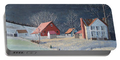 In The Winter Of My Life Portable Battery Charger by Norm Starks