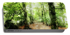 In The Wood Frame Portable Battery Charger