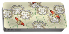 Incendia Flower Garden Portable Battery Charger