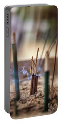 Incense Burning Portable Battery Charger
