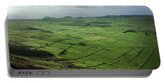 Incide The Bowl Terceira Island, Azores, Portugal Portable Battery Charger by Kelly Hazel