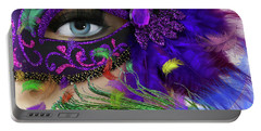 Incognito Portable Battery Charger by LemonArt Photography
