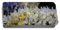Incredible Irises Portable Battery Charger