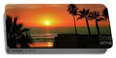 Incredible Sunset View Portable Battery Charger