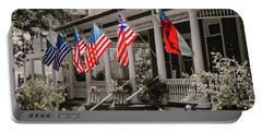 Independence Day Southport Style Portable Battery Charger by Phil Mancuso
