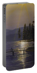 Independence Point, Lake Coeur D'alene Portable Battery Charger